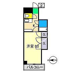 Azur[3階]の間取り
