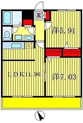 t.m.placeI[2階]の間取り