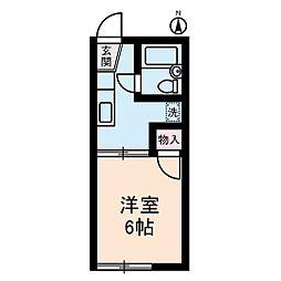 カディ東高円寺[1階]の間取り