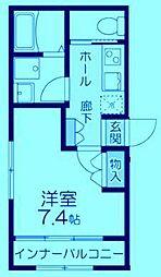 (仮称)多摩区登戸計画[2階]の間取り