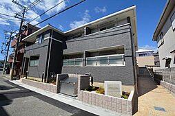 兵庫県宝塚市今里町の賃貸アパートの外観