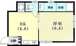 春日野道駅 6.1万円