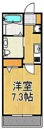 グリーンピア福寿2[203号室]の間取り