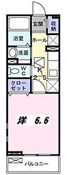 シャロル2[1階]の間取り