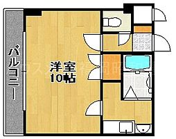 美紀屋平和ビル[3階]の間取り