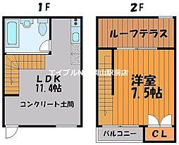 SUN CUBE[2階]の間取り