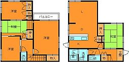[一戸建] 奈良県生駒郡三郷町城山台1丁目 の賃貸【/】の間取り