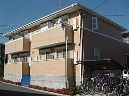 千葉県千葉市若葉区千城台西1丁目の賃貸アパートの外観