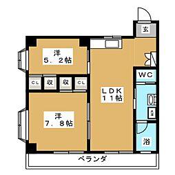 愛宕橋駅 6.4万円