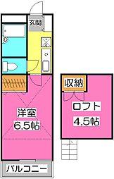 クレセントハイツTOKYUII  B棟[1階]の間取り