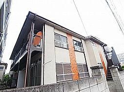 千葉県松戸市竹ケ花西町の賃貸アパートの外観