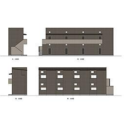 レジアス高畑[2階]の外観