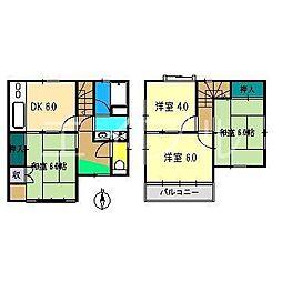 [一戸建] 高知県高知市石立町 の賃貸【/】の間取り