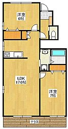[タウンハウス] 福岡県福岡市早良区室見4丁目 の賃貸【/】の間取り