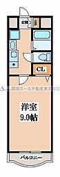 R-flats[4階]の間取り