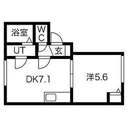 菊水駅 4.4万円