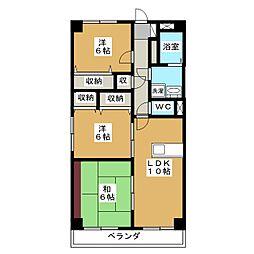 Fスペース[2階]の間取り