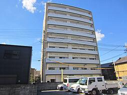 大阪府泉佐野市栄町の賃貸マンションの外観