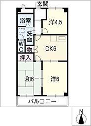 ファミール21[2階]の間取り