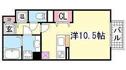 HITOMI DORMITORY[108号室]の間取り