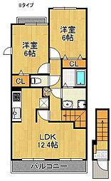 サニーパークIII[2階]の間取り