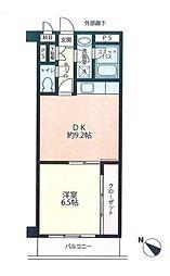 ハイツサンローゼ[2階]の間取り