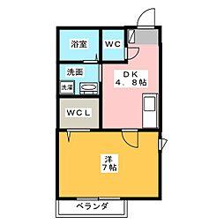 エクセリア SAKAE[3階]の間取り