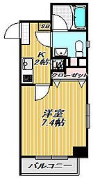 PARK STAGE・K(パークステージ・ケー)[2階]の間取り