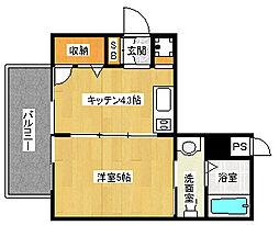 「ラナップスクエア京都西陣」[11階]の間取り