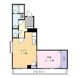 プレジール洋光台[2階]の間取り