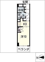A−WING[1階]の間取り