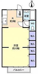 薬円台ハイツ[2階]の間取り
