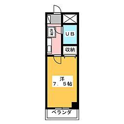 高崎レックス鞘町[10階]の間取り