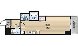 アリオーラ西梅田[5階]の間取り