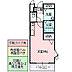 間取り,ワンルーム,面積25.25m2,賃料5.5万円,つくばエクスプレス 研究学園駅 徒歩10分,,茨城県つくば市研究学園