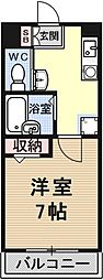 pure dormitory SHIMIZU[1205号室号室]の間取り