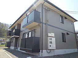 長野県茅野市米沢の賃貸アパートの外観