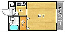The L・ビアータ[3階]の間取り