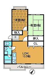 アライズ[2階]の間取り
