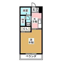 GS弐番館[1階]の間取り