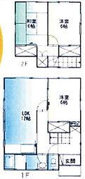 [一戸建] 埼玉県幸手市東2丁目 の賃貸【/】の間取り