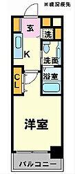 プロシード新横浜[412号室]の間取り