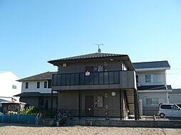 和歌山県有田市港町の賃貸アパートの外観