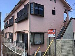 埼玉県入間郡毛呂山町前久保南1丁目の賃貸アパートの外観