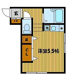江戸屋ビル[2階]の間取り