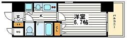 プレサンス心斎橋タイミックス[2階]の間取り