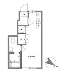 [テラスハウス] 東京都日野市多摩平1丁目 の賃貸【/】の間取り
