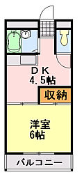 ニュー今井堂マンション[103号室]の間取り