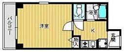 コンフォート姫里[201号室号室]の間取り
