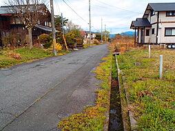 現地:前面道路...
